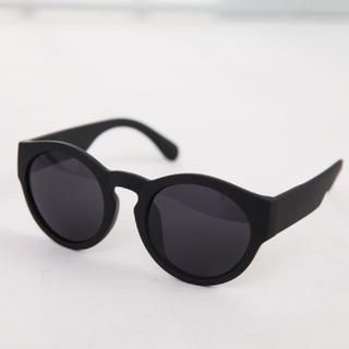 Cuteberry - Contrast-Trim Retro Sunglasses