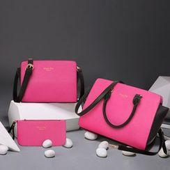 Denyard - 套裝:手提袋 + 斜挎包 + 手包