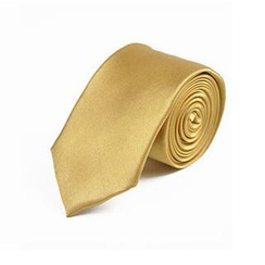 Free Shop - Slim Silk Tie