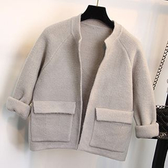FR - Cropped Knit Jacket