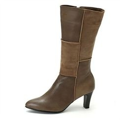 MODELSIS - Textured Genuine Leather Boots