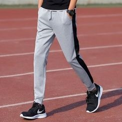 T for TOP - Panel Gather Cuff Sweatpants