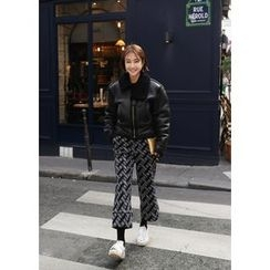 ssongbyssong - Pattern Dress Pants