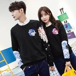 CASSY - Couple Matching Printed Pullover