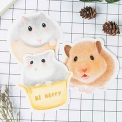 YUNO - Hamster Greeting Card