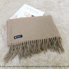 NANING9 - Wool Fringed Scarf