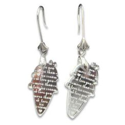 Sweet & Co. - I Love Ice-cream Mirror Charm Earrings
