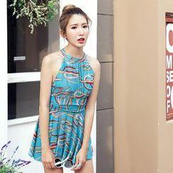 DAISI - Printed Swim Dress