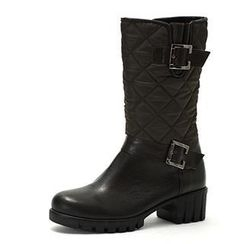 MODELSIS - Genuine Leather Padded Boots