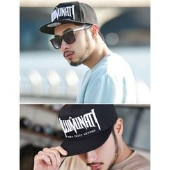 STYLEMAN - Lettering Embroidered Baseball Cap