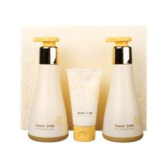 su:m37 - Sweet Smile Special Set: All-in-one Mild Wash 245ml + Moisturizing Lotion 250ml + Nourishing Cream 60ml