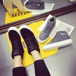 kokoin - High Top Lace Up Sneakers