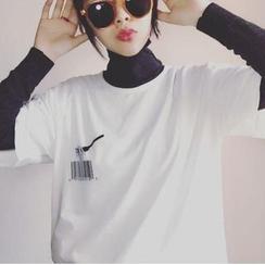 Cerauno - 印花中袖T恤