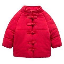 Kido - 童裝中式鈕扣夾層夾克