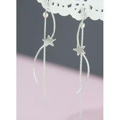 kitsch island - Star Drop Earrings