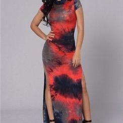 Charlotte - Printed Maxi Dress