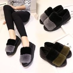 Kicko - Furry Loafers