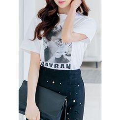 REDOPIN - Short-Sleeve Printed T-Shirt