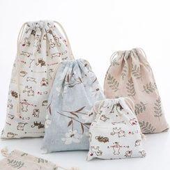 Show Home - Print Drawstring Bag