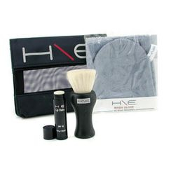 Jane Iredale - H\E Minerals Kit: Lip Balm SPF 15 + Facial Brush + Wash Glove + Bag
