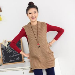 59 Seconds - Pocket Front Knit Vest