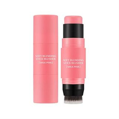 Missha - M Soft Blending Stick Blusher (#01 Milk Pink)