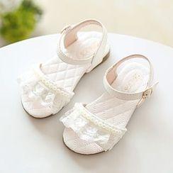 Luco - Kids Lace Trim Sandals