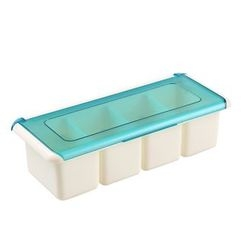 Yulu - 4 Compartment Seasoning Box