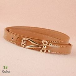Goldenrod - Patent Slim Belt