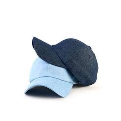 Ohkkage - Washed Denim Baseball Cap