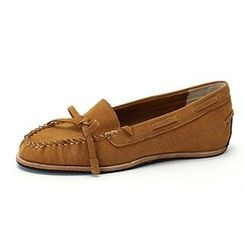 MODELSIS - Ribbon-Accent Moccasin