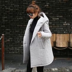 Seoul Fashion - Hooded Puffer Coat
