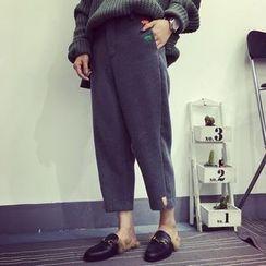 Moon City - Cropped Harem Pants