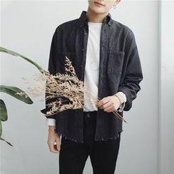 Arthur Look - Frayed Denim Shirt