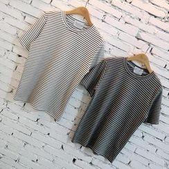 Prima Donna - Striped Short-Sleeve T-Shirt