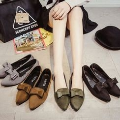 Yoflap - Bow Pointy Flats