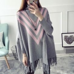 Qimi - Fringe Long Sweater