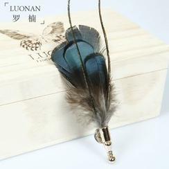 Luonan - 羽毛胸針