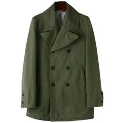 TOKIO - Double-Breasted Trench Coat
