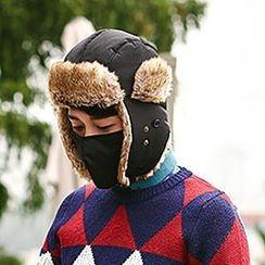 Thantrue - Fleece-Lined Earflap Hat