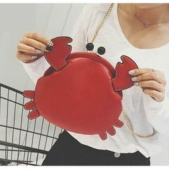 Youshine - Crab Shaped Chain Strap Crossbody Bag