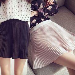 沐乃衣 - 風琴褶裙褲