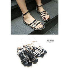 REDOPIN - Metal-Studded Sandals