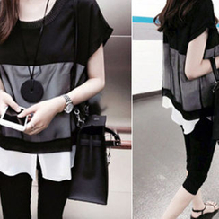 DAILY LOOK - Chiffon Blouse