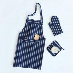 川岛屋 - 餐垫围裙隔热手套