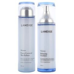 Laneige - New Basic Set : Power Essencial Skin Refiner 200ml + Balancing Emulsion 120ml
