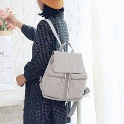 Bagsuki - Drawstring Canvas Backpack