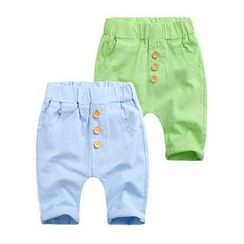 WellKids - Kids Drop-Crotch Cropped Pants