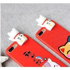 Kindtoy - Fortune Cat iPhone 6 / 6 Plus Case