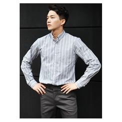 HOTBOOM - Cotton Stripe Shirt